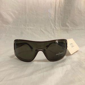 6e514eafe21a ... Necklace   Earrings Set Versace Dark Havana Oval Sunglasses MOD. 4177-H  Emporio Armani Brown Shield Sunglasses EA 9337 S ...
